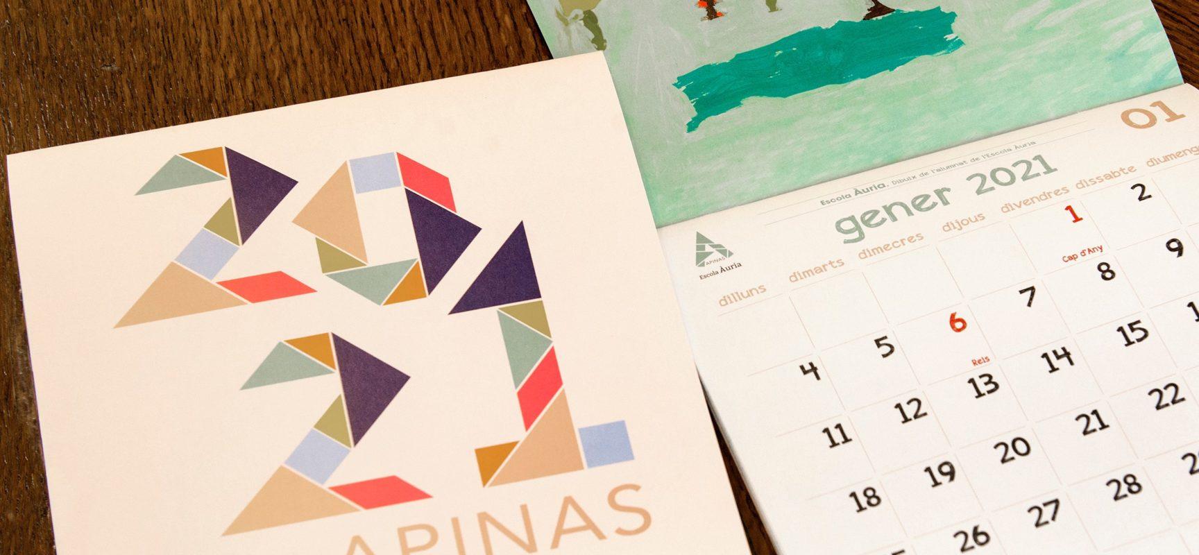 Presentació del calendari d'APINAS 2021